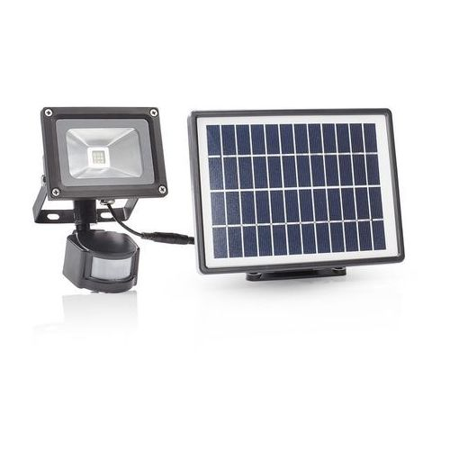 SMARTWARES Reflektor solarny z czujnikiem PIR, czarny, SFL-180-MS