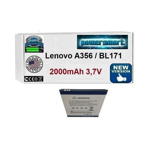 Powersmart Akumulator bateria lenovo a356 bl171 a60a a500 a50 a390 a376 2000mah
