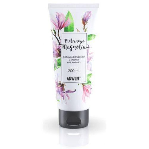 Anwen odżywka do włosów o średniej porowatości proteinowa magnolia 200 ml