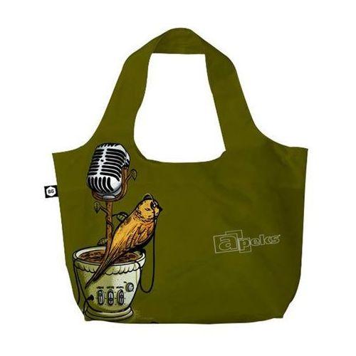 Bg berlin eco bags eco torba na zakupy 3w1 - microflower (6906053039551)