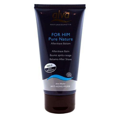 PURE NATURAL Nawilżający / łagodzący balsam po goleniu - 75ml - marki Alva