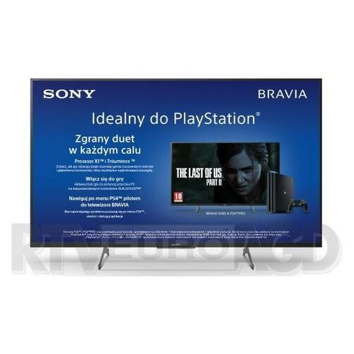 TV LED Sony KD-43XH8505