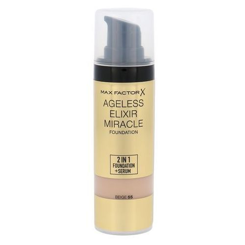 ageless elixir 2w1 foundation + serum spf15 odcień 55 beige 30 ml marki Max factor