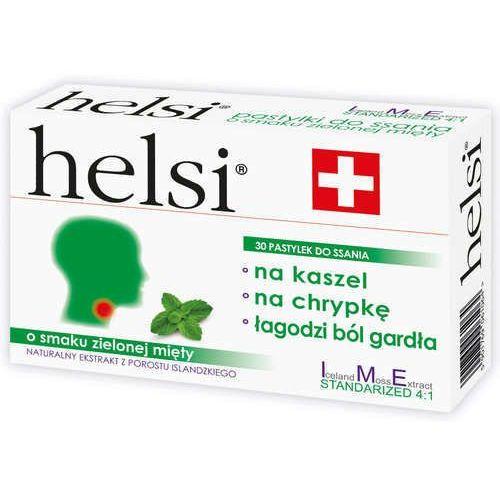 Helsi o smaku zielonej mięty x 30 pastylek do ssania marki Krotex poland