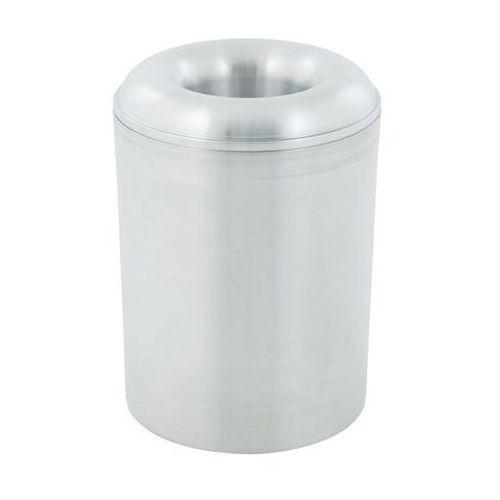 Pojemnik na odpady PREMIUM, samoczynnie gaszący, z aluminium, poj. 20 l, wys. 38