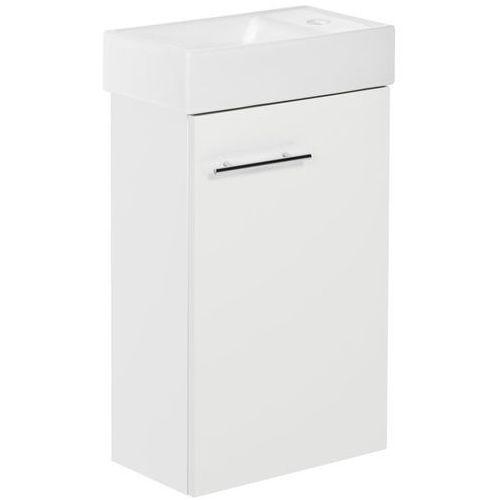 Deftrans Zestaw szafka z umywalką small 40 cm dsm biały połysk