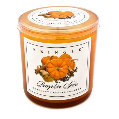 Kringle candle Pumpkin spice świeca zapachowa dynia i przyprawy mały słoik 8,5oz, 240g