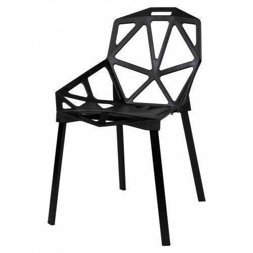 Krzesło metalowe KAZADI CZARNE, 785E-1670B_20200113215229