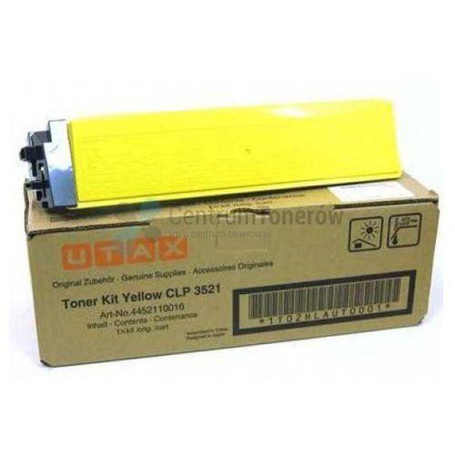 Utax oryginalny toner 4452110016, yellow, 4000s, Utax CLP 3521