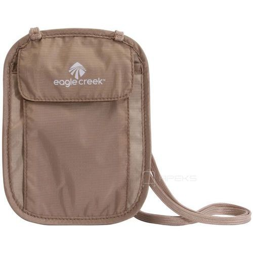 undercover neck wallet saszetka podróżna na szyję / portfel / beżowa - khaki marki Eagle creek