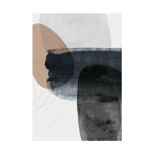 Art canvas Kanwa akwarela abstrakcja i 70 x 100 cm