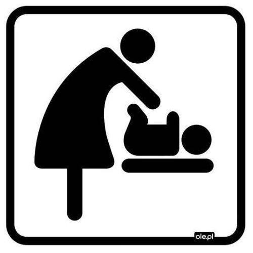 """Ole.pl Naklejka informacyjna oznaczenie toalety """"przewijak dla dziecka"""""""
