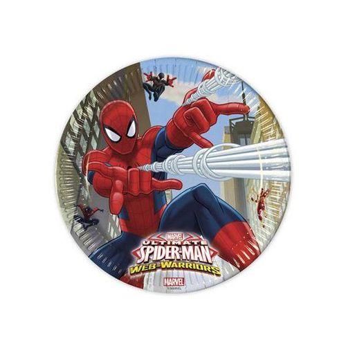 Talerzyki urodzinowe Ultimate Spiderman Web Warriors - 23 cm - 8 szt.