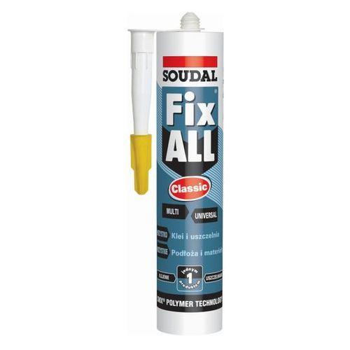 Klej-uszczelniacz Soudal Fix All Classic 290 ml szary, 102843