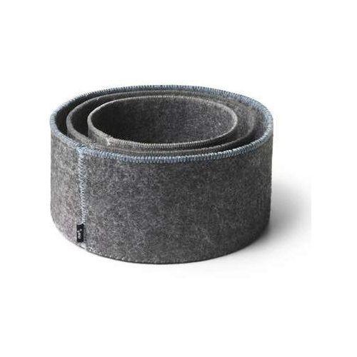 Zestaw 3 filcowych koszyków norm felt marki Menu