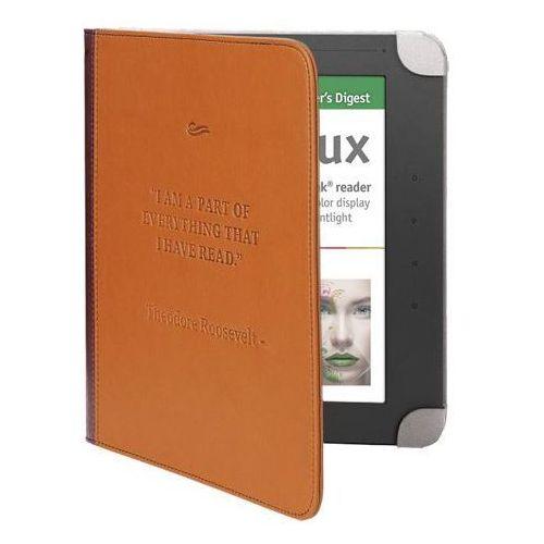 Pokrowiec etui pocketbook color lux brązowy marki Pocketbook