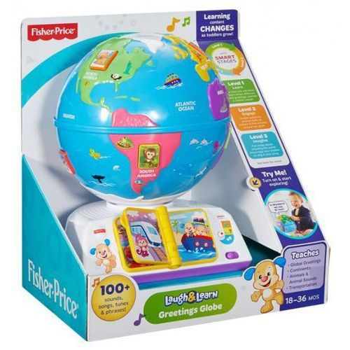 Fisher price Edukacyjny globus odkrywcy (0887961336467)