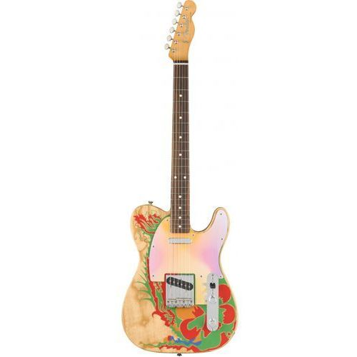 jimmy page telecaster rw natural gitara elektryczna marki Fender