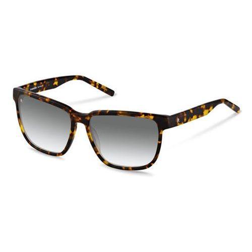 Okulary Słoneczne Rodenstock R3267 B, kolor żółty