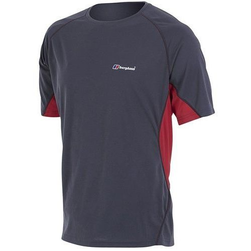 Berghaus koszulka tech tee basecrew ss am dark grey red m (5052071638793)