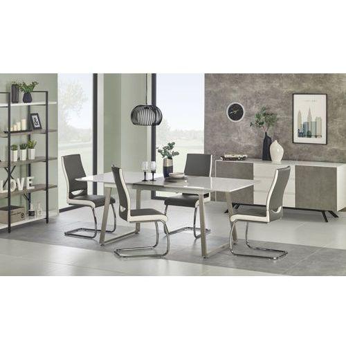 THOMAS stół rozkładany biały / beton