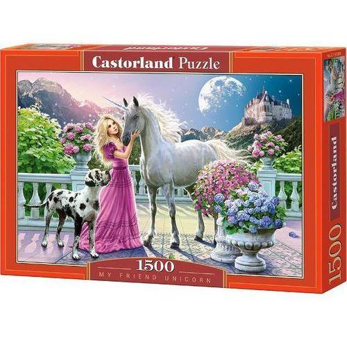 Castorland, puzzle Mój przyjaciel Jednorożec (5904438151301)