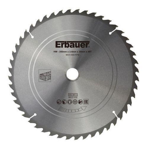 Tarcza do drewna 350 x 30 mm 48t marki Erbauer