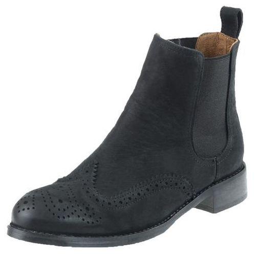 Botki Nessi 17218/N - Czarne 9, kolor czarny