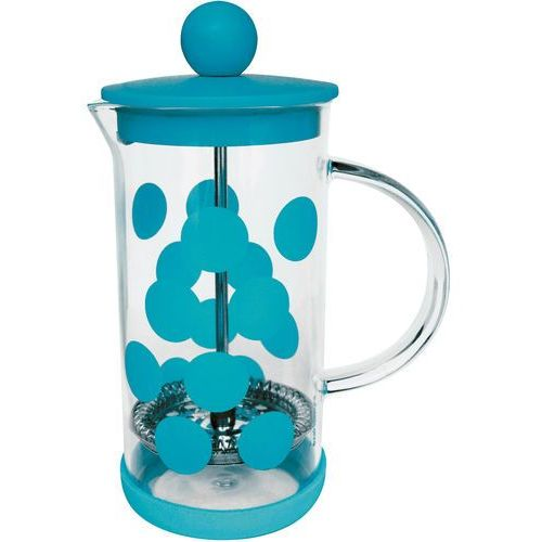 Zak! designs Zak!- kawiarka, 350ml, błękitna, dot dot