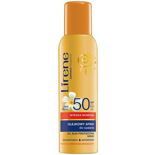 Olejkowy spray do opalania LIRENE SUN SPF50 150ml - 13E3168-01-01