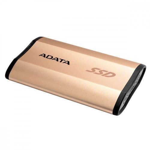 Adata SSD External SE730H 512 GB 1.8'' USB-C 3D Złoty (4713218460516)