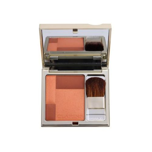 Clarins  face make-up blush prodige rozjaśniający róż do policzków odcień 04 sunset coral (illuminating cheek colour) 7,5 g