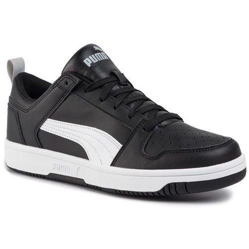 Sneakersy - rebound layup lo sl 369866 02 puma black/white/high rise marki Puma