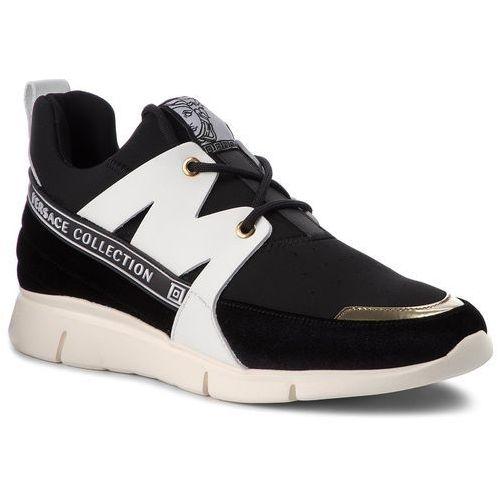 Sneakersy collection - v900724 vm00419 va05h nero/oro chiaro/nero/b marki Versace