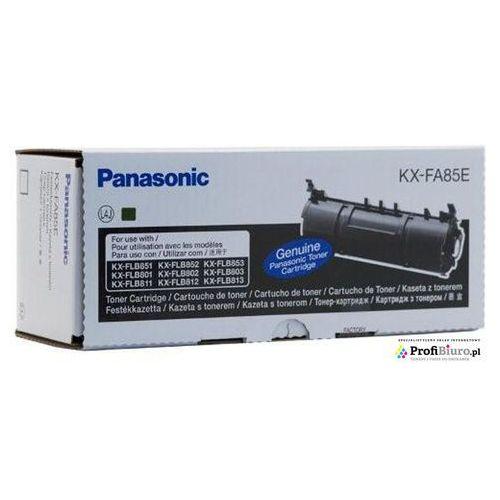 Toner kx-fa85e black do faxów (oryginalny) [5k] marki Panasonic