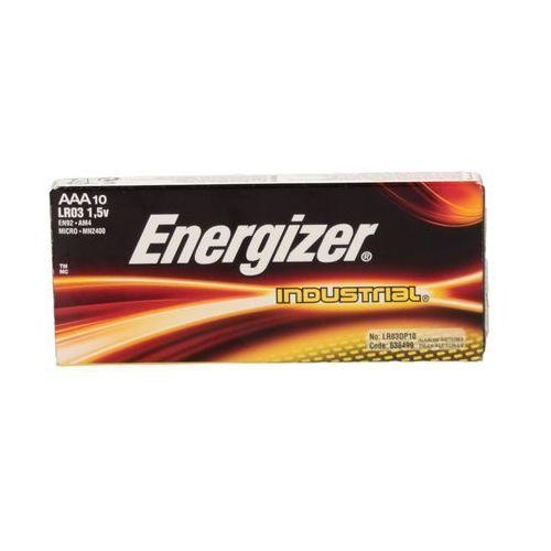 Bateria alkaliczna LR03 AAA Industrial Energizer (10)
