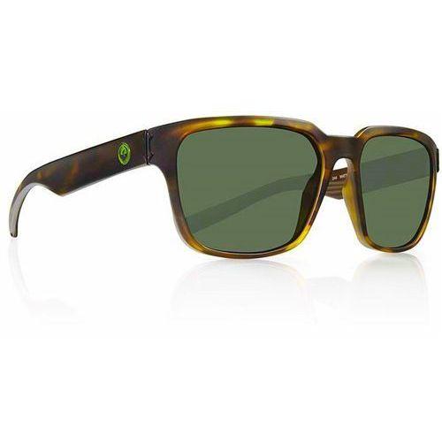 okulary słoneczne DRAGON - Reflector Matte Tortoise Green (244) rozmiar: OS, kolor zielony