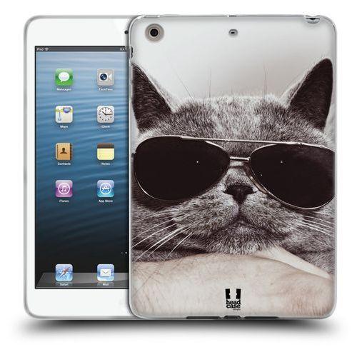 Head case Etui silikonowe na tablet - cats grey british cat in sunnies
