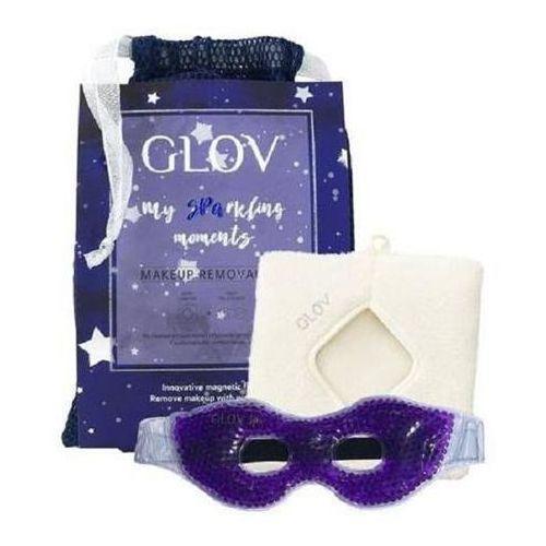 Glov My sparkling moments zestaw comfort makeup remover rękawiczka do demakijażu + gel eye mask maska żelowa (5907222005118)