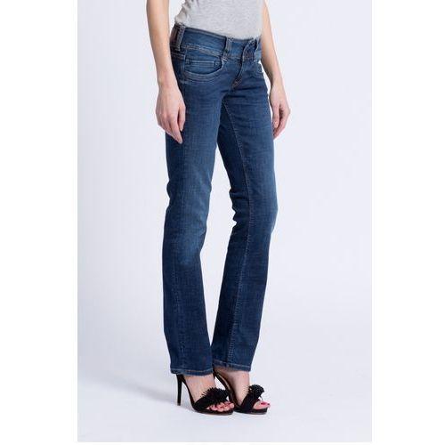 - jeansy gen marki Pepe jeans