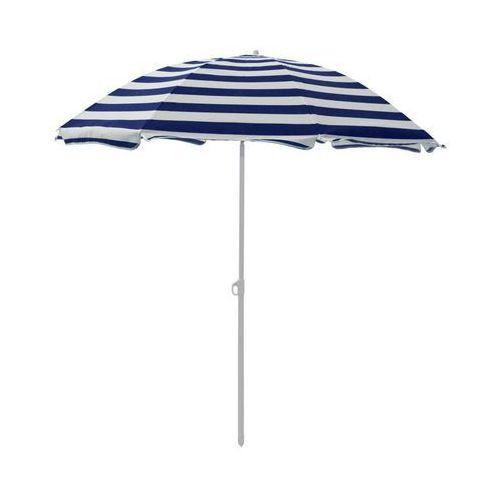 Jumi Parasol plażowy 180 cm niebiesko-biały w paski (5900410433830)