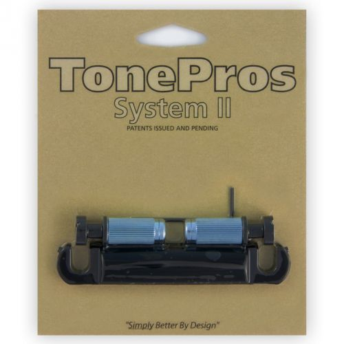 Tonepros t1zs-b - tailpiece, części mostka do gitary, czarne