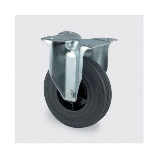 Koła przemysłowe z maksymalnym obciążeniem 70-205 kg, czarna guma (4031582030662)