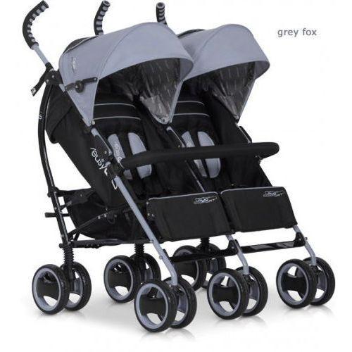 Wózek Bliźniaczy EasyGo Duo Comfort Grey Fox, 0A20-3107E_20160323204718
