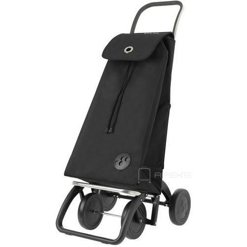 Rolser dos+2 wózek na zakupy / 4-kołowy / imx002 negro / czarny - czarny