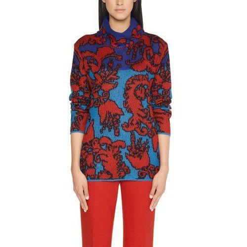 Bluza Marc Cain Collections FC 41.50 M33 dla kobiet, kolor: niebieski, rozmiar: 44 (rozmiar producenta: 6), kolor niebieski