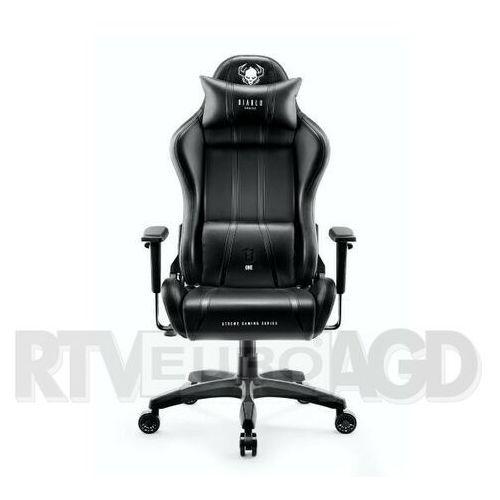 Fotel DIABLO CHAIRS X-One 2.0 (XL) Czarno-czarny DARMOWY TRANSPORT, X-ONE 2.0 KING SIZE