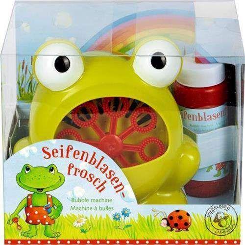 Żabka do puszczania baniek mydlanych marki Spiegelburg