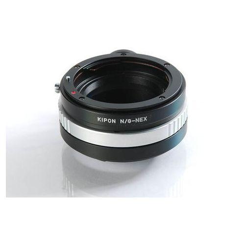 Kipon Adapter Sony E body NIK G - Sony E z kategorii Pozostała optyka fotograficzna