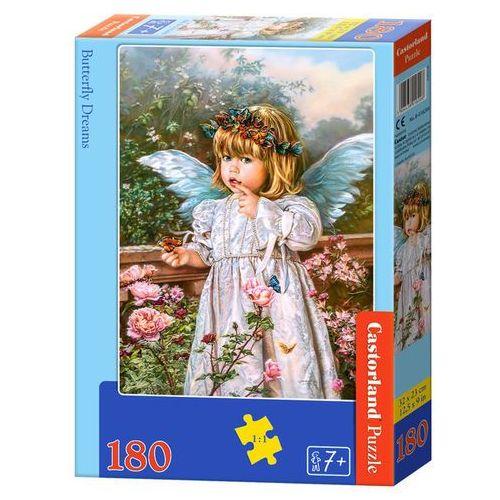 Puzzle Castorland. 180 elementów. Butterfly Dreams (B-018208) + zakładka do książki GRATIS (5904438018208)
